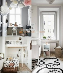 Cozy Scandinavian Kids Rooms Designs Ideas02