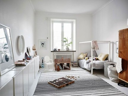 Cozy Scandinavian Kids Rooms Designs Ideas08