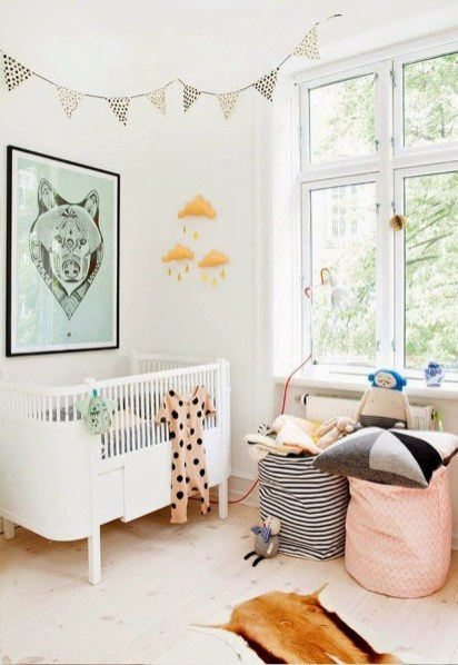Cozy Scandinavian Kids Rooms Designs Ideas15