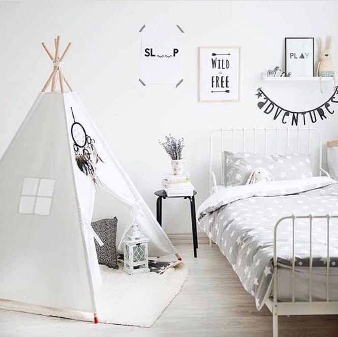 Cozy Scandinavian Kids Rooms Designs Ideas26