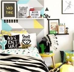 Cozy Scandinavian Kids Rooms Designs Ideas35