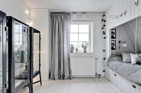 Cozy Scandinavian Kids Rooms Designs Ideas43