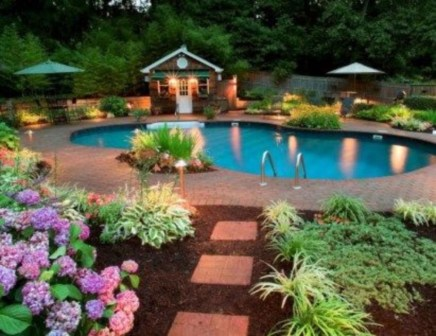 Cozy Swimming Pool Design Ideas For Your Home Backyard03
