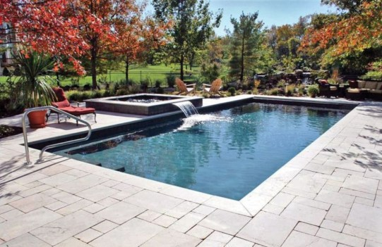 Cozy Swimming Pool Design Ideas For Your Home Backyard06