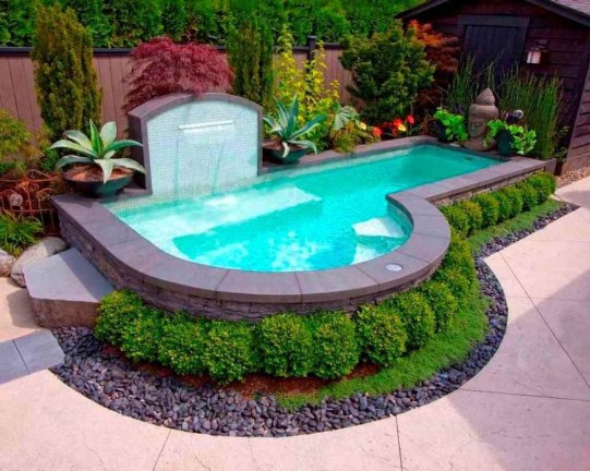 Cozy Swimming Pool Design Ideas For Your Home Backyard07