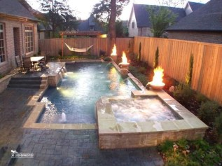 Cozy Swimming Pool Design Ideas For Your Home Backyard08