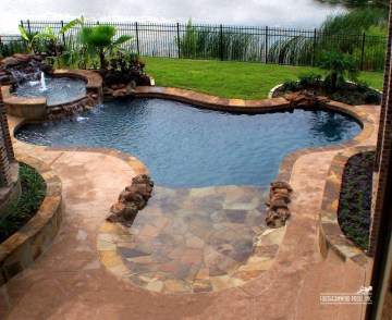 Cozy Swimming Pool Design Ideas For Your Home Backyard26