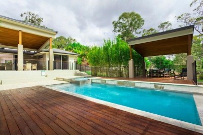 Cozy Swimming Pool Design Ideas For Your Home Backyard31