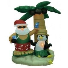 Creative Beach Christmas Decor Ideas30