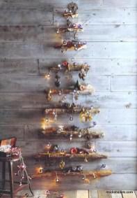 Diy Wall Christmas Tree Ideas03