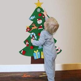 Diy Wall Christmas Tree Ideas20