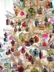 Fascinating White Vintage Christmas Ideas03