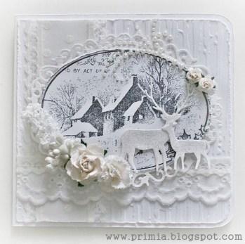 Fascinating White Vintage Christmas Ideas12