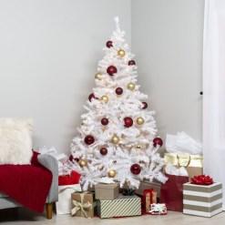 Fascinating White Vintage Christmas Ideas18