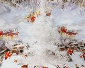 Fascinating White Vintage Christmas Ideas33