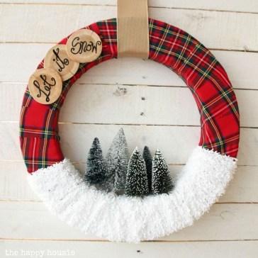 Inspiring Christmas Wreaths Ideas For All Types Of Décor36