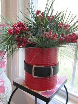 Minimalist Small Tree In A Bucket Ideas For Christmas10