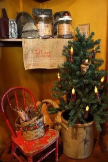 Minimalist Small Tree In A Bucket Ideas For Christmas13