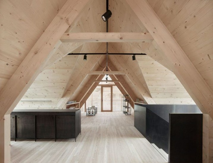 Modern Attic For Christmas43