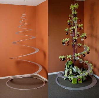 Modern Christmas Tree Alternatives Ideas08