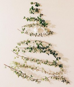 Modern Christmas Tree Alternatives Ideas13