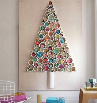 Modern Christmas Tree Alternatives Ideas35