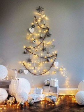 Modern Christmas Tree Alternatives Ideas47