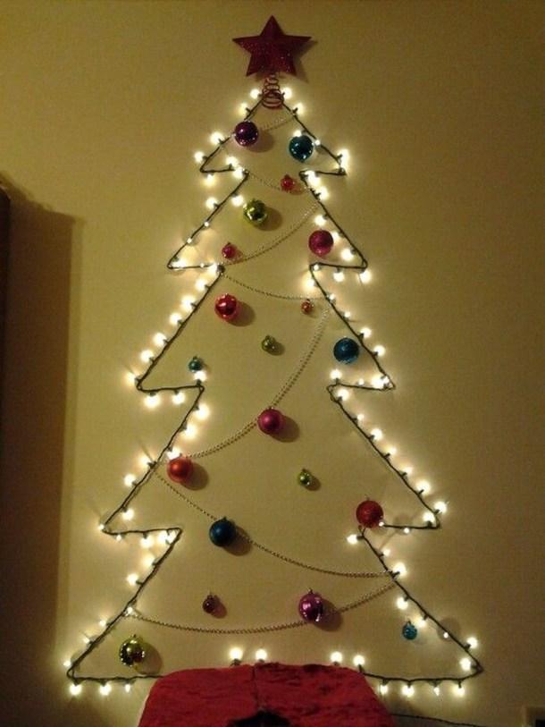 Modern Christmas Tree Alternatives Ideas49