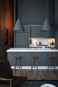 Modern Dark Grey Kitchen Design Ideas16