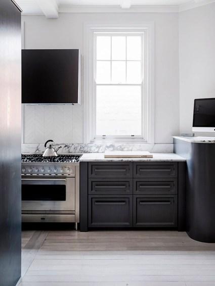 Modern Dark Grey Kitchen Design Ideas32