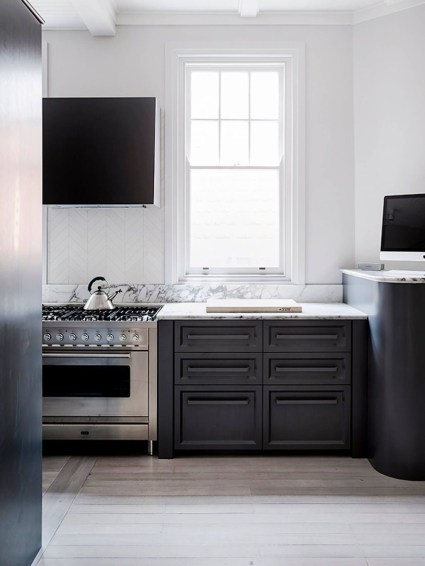 Modern Dark Grey Kitchen Design Ideas32