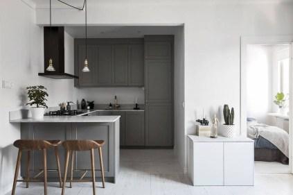 Modern Dark Grey Kitchen Design Ideas35