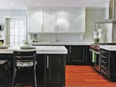 Modern Dark Grey Kitchen Design Ideas36