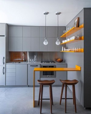 Modern Dark Grey Kitchen Design Ideas40