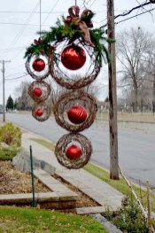 Outdoor Decoration For Christmas Ideas19