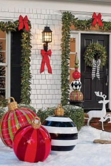 Outdoor Decoration For Christmas Ideas39