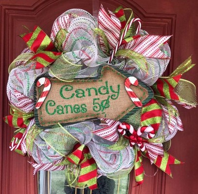 Perfect Candy Cane Christmas Decor Ideas For Your Home32