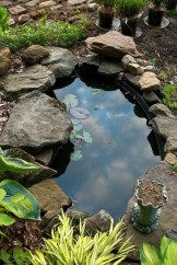 Popular Pond Garden Ideas For Beautiful Backyard01