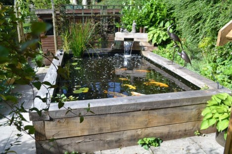 Popular Pond Garden Ideas For Beautiful Backyard31