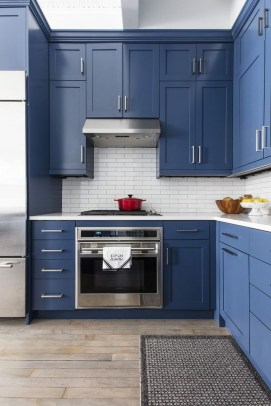 Relaxing Blue Kitchen Design Ideas For Fresh Kitchen Inspiration12