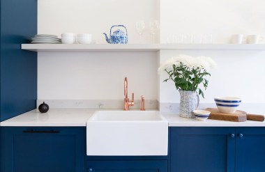 Relaxing Blue Kitchen Design Ideas For Fresh Kitchen Inspiration20