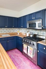 Relaxing Blue Kitchen Design Ideas For Fresh Kitchen Inspiration24
