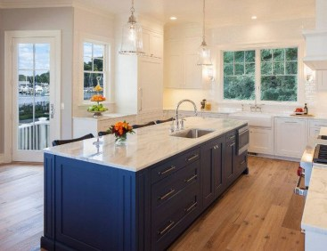 Relaxing Blue Kitchen Design Ideas For Fresh Kitchen Inspiration25