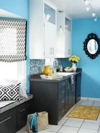 Relaxing Blue Kitchen Design Ideas For Fresh Kitchen Inspiration33