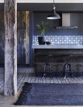 Relaxing Blue Kitchen Design Ideas For Fresh Kitchen Inspiration46