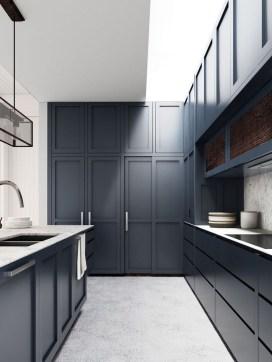 Relaxing Blue Kitchen Design Ideas For Fresh Kitchen Inspiration48