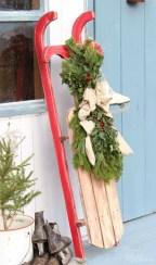 Unique Sleigh Decor Ideas For Christmas18