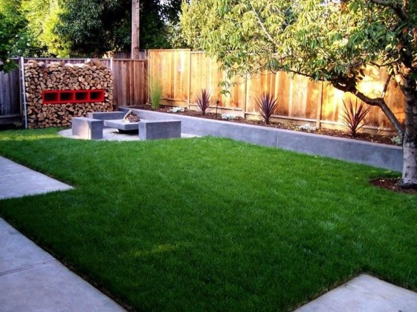 Amazing Grass Landscaping For Home Yard11