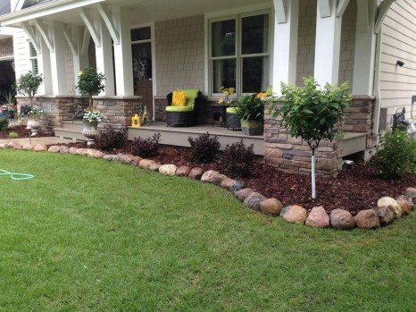 Amazing Grass Landscaping For Home Yard21