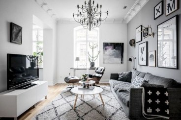 Amazing Scandinavian Livingroom Decorations Ideas08